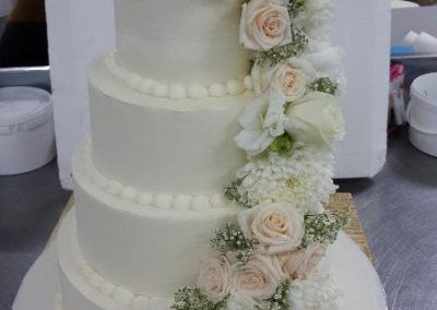 Cakes Devine -Flower Wedding Cake 2